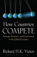 book cover: How Countries Compete: Strategy, Structure, and Government in the Global Economy, by Richard H. K. Vietor.