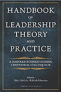 Handbook of Leadership Theory and Practice
