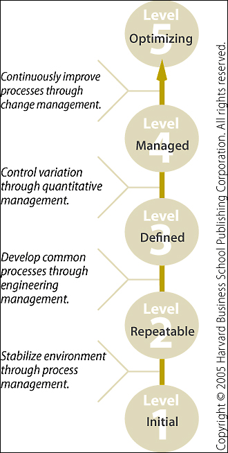 The SEI's Capability Maturity Model