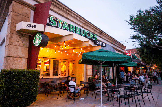 starbucks coffee company the values of Starbucks' mission is to inspire and nurture the human spirit – one person, one  cup and one neighborhood at a time.